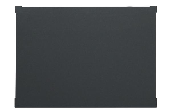 Auflage Arztgerät, anthrazit, 376x278x2mm
